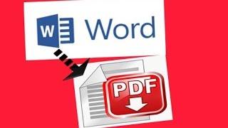Criando PDF no Word 2010 /2013 e 2016 - Como salvar textos e fotos no formato PDF utilizando Word