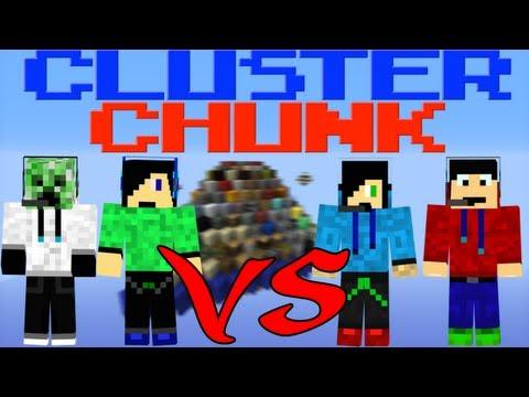 Minecraft - Cluster Chunk med folk från xForce (Svenska)