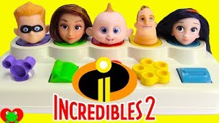 Disney The Incredibles 2 Pop Up Surprises