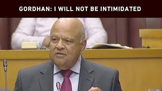Minister of Public Enterprises Pravin Gordhan was interrupted by the EFF during the Public Enterprises budget vote in Parliament on 11 July 2019. Gordhan was eventually able to continue his speech after the EFF was kicked out.