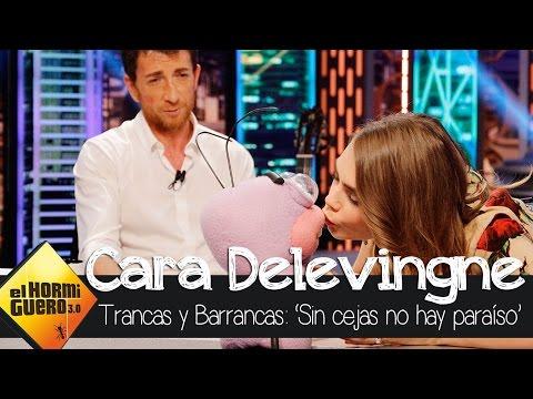 Barrancas pide matrimonio a Cara Delevingne - El Hormiguero 3.0