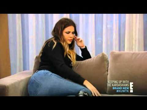 Khloe Kardashian Jeans Ass hot