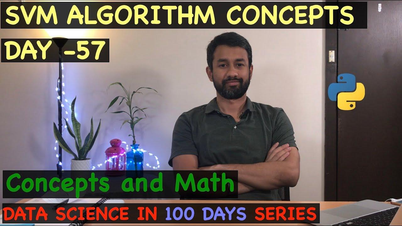 SVM Algorithm Concepts - Day 57