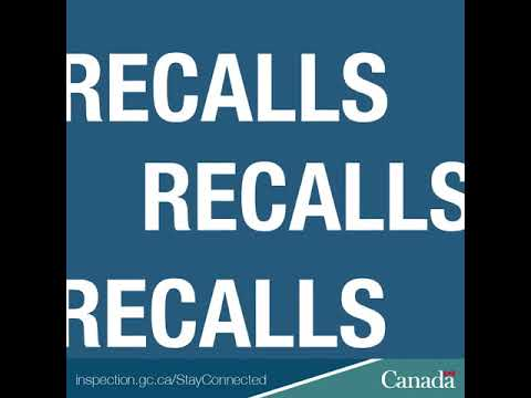Stay on top of the latest CFIA food recalls