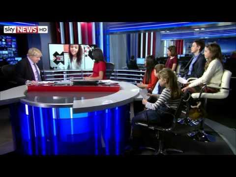 Boris Draws Blank Over Kid's Football Question1