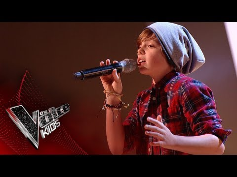 Jack performs 'Free Fallin': Blinds 2 | The Voice Kids UK 2017