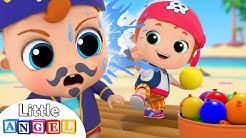 Water Balloon Fight   Little Angel Kids Songs & Nursery Rhymes