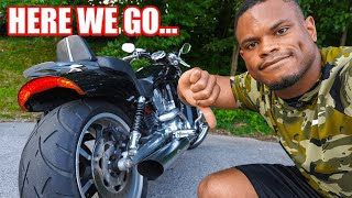 HARLEY HAD MY BIKE FOR 1 MONTH 🤦🏾♂️ | V-Rod Muscle Problems RESOLVED | 2021 Pan America Walk Around