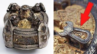 Загадочная брошь эпохи викингов с сюрпризом. Самые необычные находки