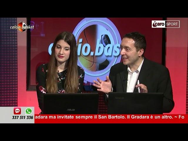 Icaro Sport. Calcio.Basket del 9 aprile 2018 - 3a parte