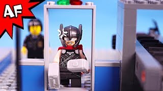 Lego Thor at the Airport - Superhero's Bad Day