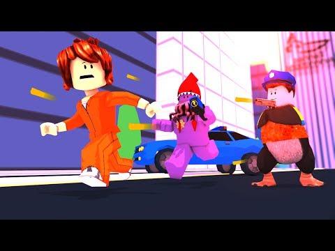 Roblox Animation - JAILBREAK: The Escaped Prisoner Animated!