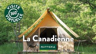 La Tente Canadienne | Hébergement Toile & Bois