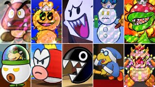 Paper Mario: Sticker Star - All Bosses
