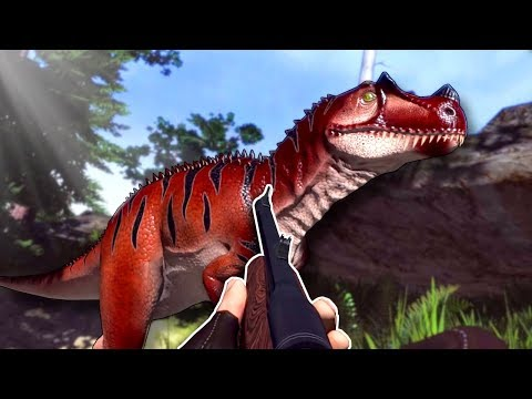 HUNTING DANGEROUS DINOSAURS! - Carnivores: Dinosaur Hunter Reborn Gameplay  