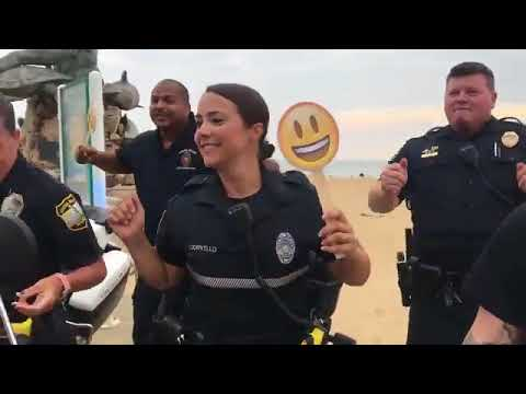 Virginia Beach Polices Lip Sync Challenge