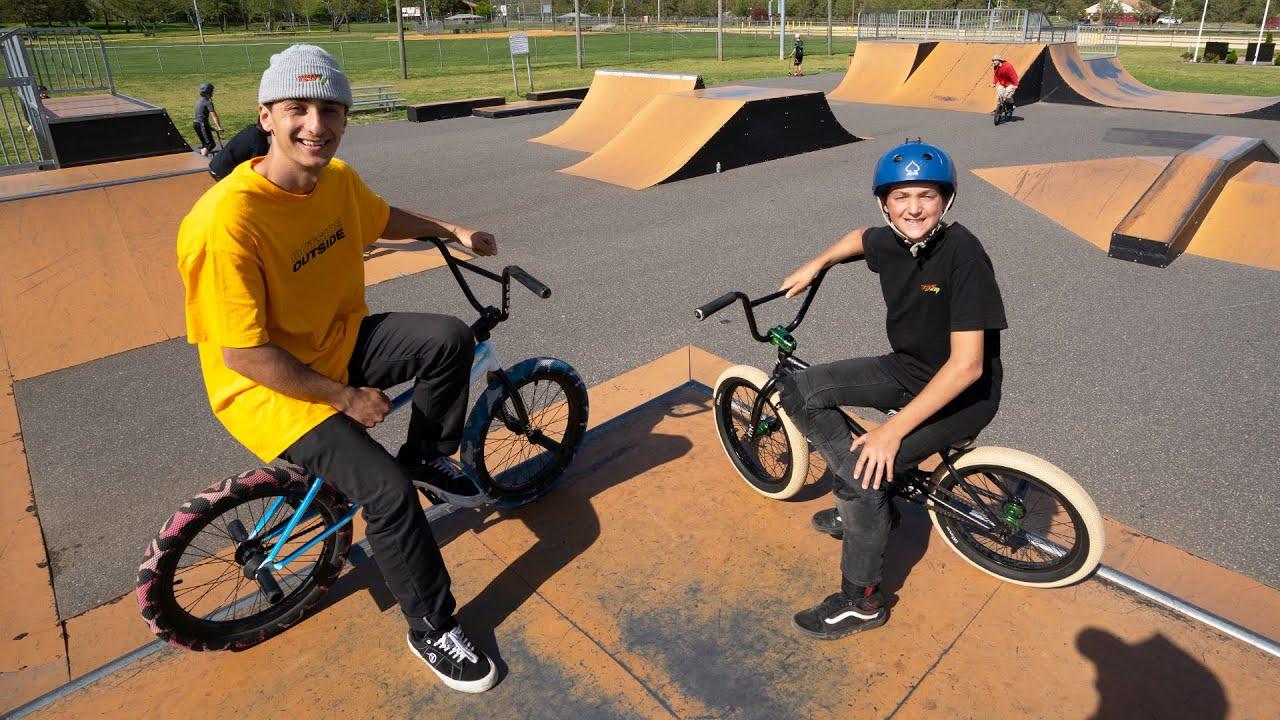 Panza Vs 12 Year Old Game Of Bike!