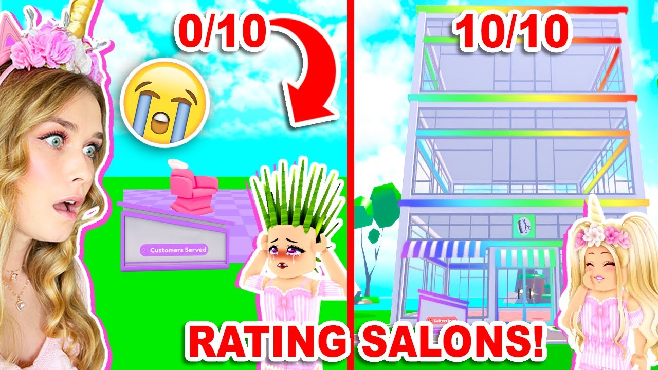 RATING SALONS With Silly! (Roblox)