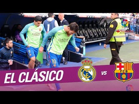 El Clásico - Túnel de vestuarios del Real Madrid vs FC Barcelona