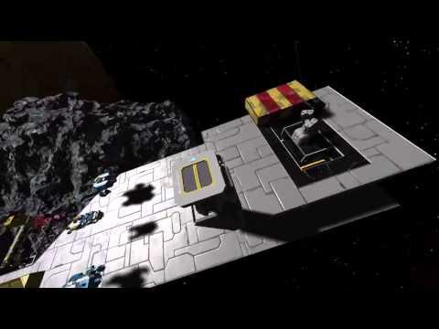 Space Engineers - Defense Grid Test