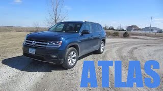 2018 Volkswagen Atlas SE V6 4Motion | Full Review and Test Drive