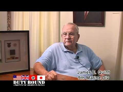 Jim Quint, WWII, USMC,  Interview