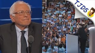 Bernie At DNC Now The Most Heartbreaking Video Of 2016