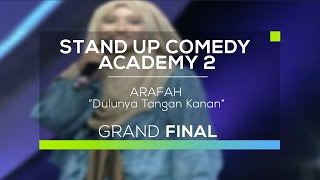 Video Arafah - Dulunya Tangan Kanan (SUCA 2 - Grand Final) download MP3, 3GP, MP4, WEBM, AVI, FLV Juli 2018