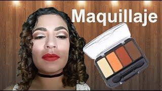 Maquillaje con cuarteto de BISSU 05