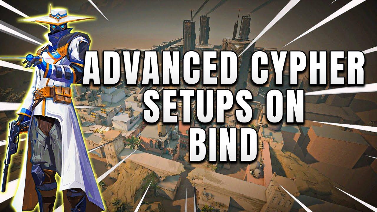Advanced 200IQ Cypher Setups on Bind (Valorant)