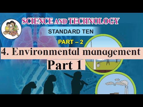 4.Environmental Management Pt 1 10th Science 2 Maharashtra Board
