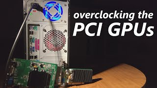 overclocking the pci graphics cards