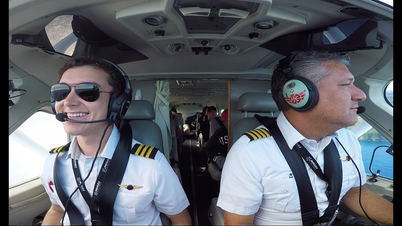 first day as an airline pilot hawaii style youtube