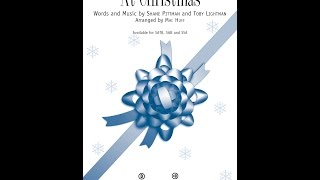 At Christmas (SATB) - Arranged by Mac Huff