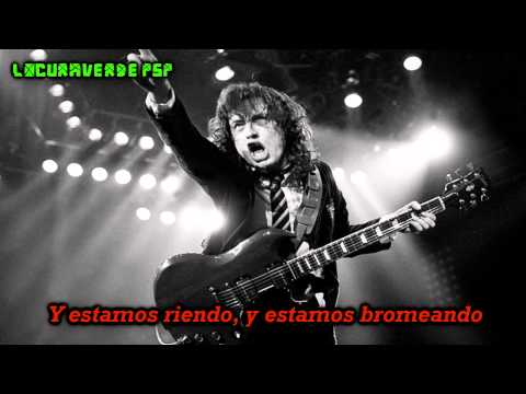 AC/DC- Rock The Blues Away- (Subtitulado en Español)