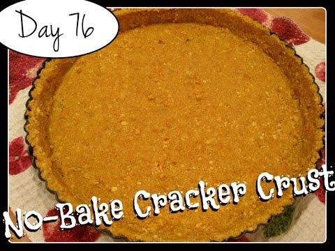 No-Bake (Graham) Cracker Crust Recipe [Food Challenge: DAY 76]