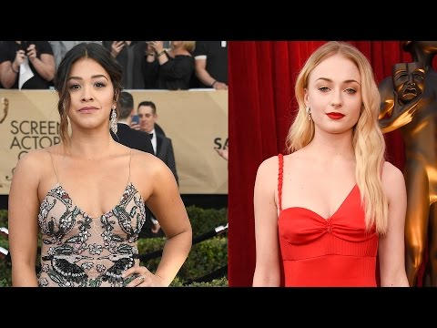7 Best Dressed Celebs At 2017 SAG Awards