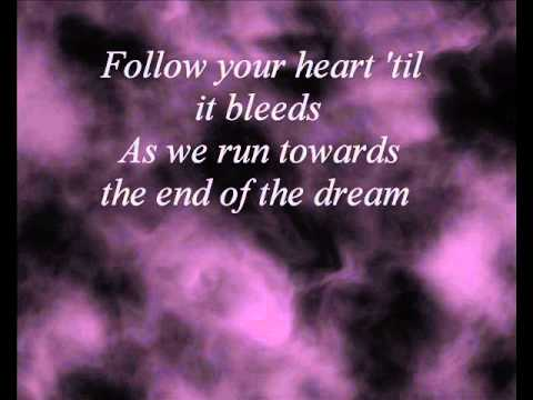 Evanescence End Of The Dream Lyrics