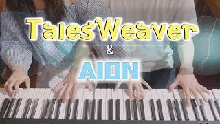 Talesweaver/Aion Medley (테일즈위버/아이온 메들리) - 4hands piano
