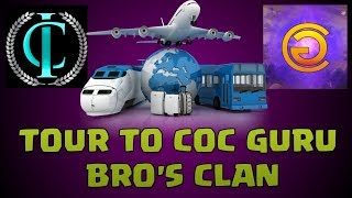 TOUR TO COC GURU BRO'S CLAN||TH 9 BEST 3 STAR ATTACK STRATEGY ||CLASH OF CLANS