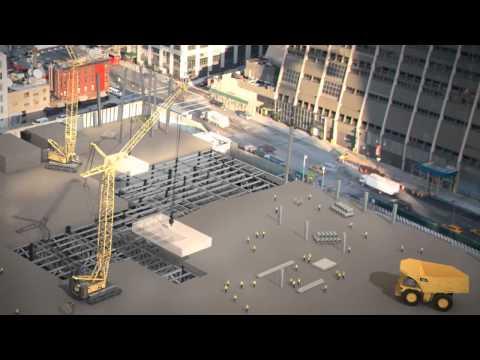 Hudson Yards Platform Construction Video