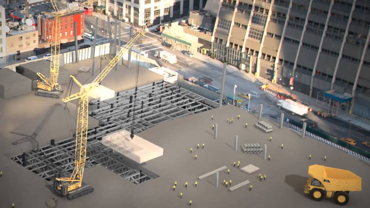 How New York Is Building an Entire Neighborhood on Top of a Rail