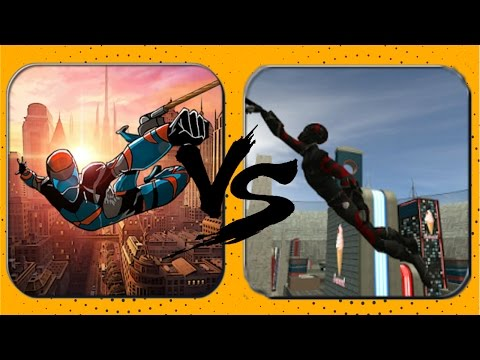 ►Climbing Man VS Future Crime Simulator( Good Thoughts Affect vs Naxeex LCC ) Android Game Play HD