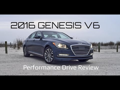 Performance Drive Review 2016 Hyundai GENESIS 3.8 RWD Ultimate