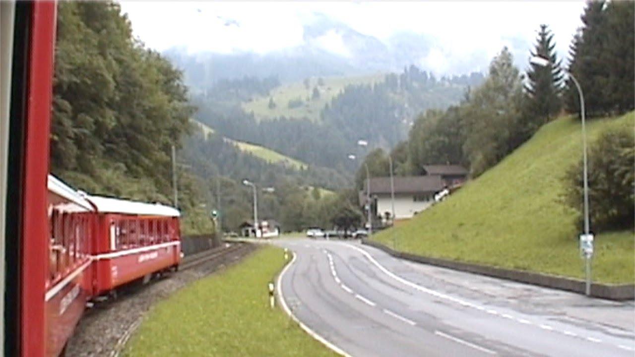 Travel By Swiss Rail Lucerne Stans Engelberg Express Switzerland Youtube