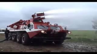 Пожарный вездеход ГАЗ-59402 ''Пурга''
