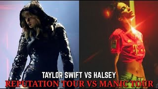 Manic Tour (Halsey) Vs Reputation Tour (Taylor Swift) | BELT Battle [A4 - F5]