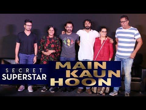 Secret Superstar Song Launch | Main Kaun Hoon | Aamir Khan, Amit Trivedi | Full Video