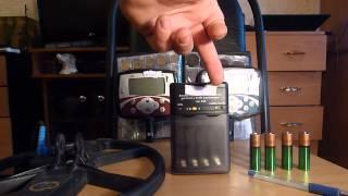 Усиленные аккумуляторы для металлоискателя