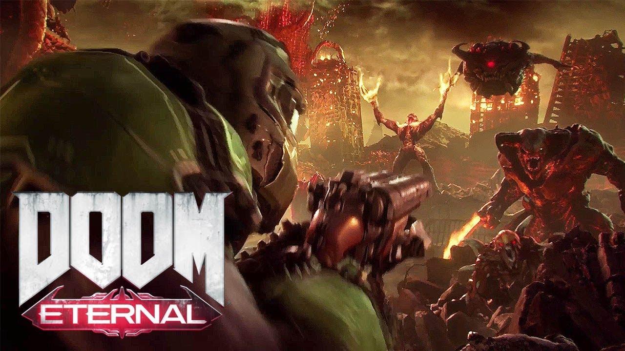 Wolfenstein Hd Wallpapers Doom Eternal E3 2018 Teaser 1080p Hd Youtube